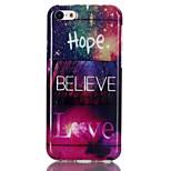 Hope love  Pattern TPU Soft Case for iPhone 5C