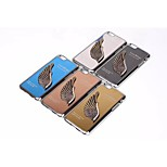House fo Waris The New Metal wire Drawing Case Cover for iPhone6S Assorted Color