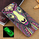 New Animal 3 Style Pattern Luminous Embossed Feel Phone Back Cover Case Protective Shell for iPhone 6 4.7 inch