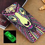 moda animale 3 modello di stile luminoso telefono sensazione rilievo copertura posteriore Custodia protettiva per iPhone 5 / 5s