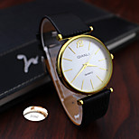 Personalized Gift Minimalist Fashion Lady Leather Rhinestone  Watch