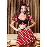 Halloween / Christmas / Carnival / Oktoberfest Female Princess series Costumes Costumes Top / Skirt / Headwear
