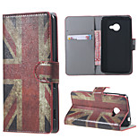 For Acer Liquid Z220 Cover UK Flag Pattern Leather Wallet Flip Stand Case For Acer Liquid Z220 m220 Mobile Phone Cases