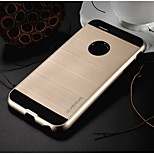 High Quality Hair Line Style Hybrid TPU+PC Back Cover for iPhone 6 (Assorted Colors)