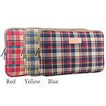 13'' 14'' 15'' Plaid Pattern Protective Sleeve Laptop Computer Bag (Assorted Colors)