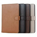 Simple Flip Case Support Crazy Horse Computer Protection Shell for iphong ipad mini 1/2/3/4 Assorted Colors