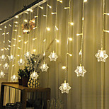 Christmas Curtain Ktv Bars Wedding Twinkle Waterfall Lights Decoration Lamps Waterproof String Light 3M