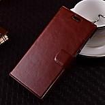 patrón de color puro de alta calidad cubierta de cuero de la PU para el iphone 6s / 6 más (colores surtidos)