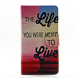 Life Design PU Leather Full Body Case with Stand and Card Slot for Huawei P8Lite
