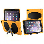 Fashion Defender Case Waterproof Shockproof Case PC+Silicone Hybrid Case Cover For iPad Air 2 Retina