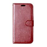 PU-Leder + tpu rückseitige Abdeckung des Mappenkasten Flip-Cover Fotorahmen Tasche für HTC Desire 626