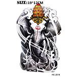 (1pcs) New Elephant 19*12cm Fashion Temporary Tattoo Stickers Temporary Body Art Waterproof Tattoo Pattern