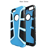 High Quality So Cool Mars Series Antiskid TPU+PC Cover for iPhone 6/6S (Assorted Colors)