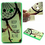 Dreamcatcher Words Phrase Pattern 0.6mm Ultra-Thin Soft Case for Lumia 535