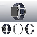 Modern Buckle with Watchband Simple Dermis for Apple Watch 38mm/42mm Assorted Colors