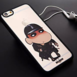 Hat Boy Pattern TPU and PC Material Combo Phone Case for iPhone 6/6S