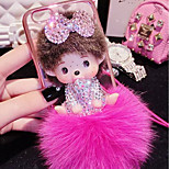 LADY®Elegant/Personality/Cartoon Phone Case for iphone6/6s(4.7), Decorated with Camellia Diamond, More Colors Available