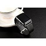 Newes Top layer leather Multicolor Fashion Genuine leather Watchband for Apple iWatch 42MM 38MM
