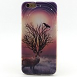 Deer Pattern TPU Material Phone Case for iPhone 6/6S