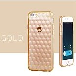 High Quality Air Bubble Pattern TPU Back Cover for iPhone 6 Plus (Assorted Colors)