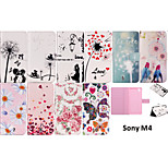 Open The Protective Cover Around The Colorful Totem for Sony M4(Assorted Colors)
