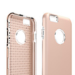 Metallic Paint Combo PC and TPU Material Color Fangshuai Phone Case for iPhone 6/ 6S (Assorted Colors)
