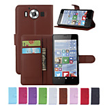 Luxury Wallet PU Leather Full Body Case with Card Slot and Stand for Case for Microsoft lumia 950/Nokia Lumia 950