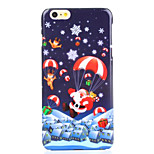 Parachute UV Varnish PC Material Christmas Phone Case for iPhone 6 /6S