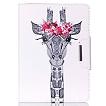 Deer Head Pattern PU Leather Full Body Case With Stand for iPad Air