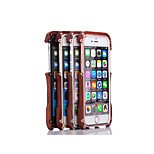 Metal And Wood Cool Metal Mobile Phone Case for iPhone 6/6S