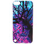 Tree Painting Pattern TPU Soft Case for iPod Touch 5/Touch 6