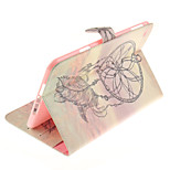 Windbell Pattern PU Leather Full Body Case TPU With Stand for iPad Mini 4
