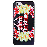Christmas Style Garland Pattern PC Hard Back Cover for iPhone 5/5S