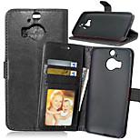 Qualitäts-PU-Leder Geldbörse Handy-Köchertasche für HTC m9 plus (Farbe sortiert)