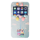 Balloon House Pattern PU Window Full Body Case for iPhone 6