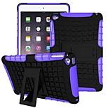 ejército de caucho de silicona en gel 2 en 1 caso duro a prueba de golpes con el soporte para el iPad mini 4 (colores surtidos) de