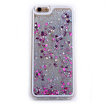 Three-Dimensional  Star Quicksand TPU and PC Combo Material Phone Case Phone Case for iPhone 6/6S (Assorted Colors)