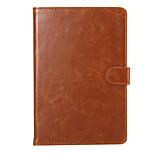 Enkay de haute qualité cuir PU cas intelligente de protection avec support et cartes fentes pour Mini iPad 4 (couleurs assorties)