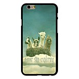 Alpaca Pattern PC Hard Case for iPhone 6/6S