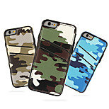Camouflage PU Leather with Card Slot Back Cover Case for iPhone 6/6S (Assorted Colors)
