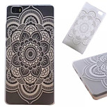 Lotus  Pattern PC Phone Shell For Huawei  P8 Lite