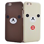 Teddy Bear Pattern Smooth Surface PC Hard Back Cover Case for iPhone 5/5S