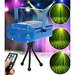 lt - WT mini batter remoto illuminazione della fase del laser rosso + verde (controllo di voce / semovente / remoto)