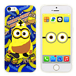 iPhone5 Case Minions Despicable Me Silicone Gel TPU material Case Free with Headfore HD Screen Protector for iPhone5/5s