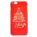 Christmas Tree UV Varnish PC Material Christmas Phone Case for iPhone 6 /6S