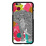 The Flowers in The Elephant Pattern PC Hard Case for iPhone 6/6S