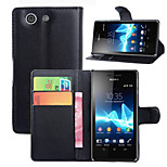 Sony Sony Z3 Mini Phone Card Holder Leather Protective Sleeve Shell Phone Sets Z3 Compact(Assorted Color)