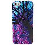 Tree Painting Pattern TPU Soft Case for iPhone 5/5S