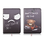 7.9 Inch Cartoon Pattern 360 Degree Rotation PU Leather Case for iPad Mini 4(Assorted Colors)