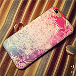 Ethic Flowers Pattern High Quality PU Leather and TPU Back Case for iPhone 6plus/iPhone 6S plus